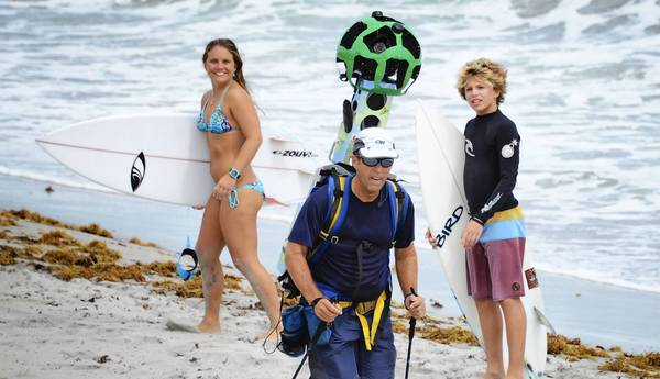 Google-Street-View-Trekker-Hollywood-florida