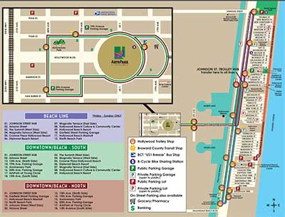 Click for a larger map, or get the brochure